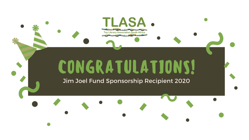 Congratulations Jim Joel Sponsorship
