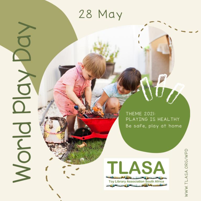 TLASA World Play Day advert 2021